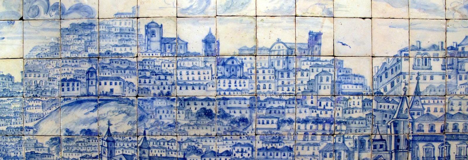 Museu nacional do azulejo hist ria contada a azul a branco for Azulejos historia